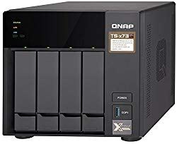 Qnap TS-473-4G-US 4-Bay NAS/iSCSI IP-SAN, AMD R Series Quad-core 2.1GHz, 4GB RAM, 10G-Ready