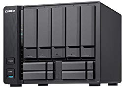 Qnap TVS-951X-2G-US 5+4 Bay NAS Intel Celeron Dual-core 1.8 GHz, 2GB DDR4 1 x 10GbE NBASE-T LAN, 1 x GbE LAN, 1 x HDMI