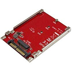 StarTech M.2 to U.2 Adapter – M.2 Drive to U.2 SFF-8639 Adapter – Works with M.2 PCIe NVMe Drives