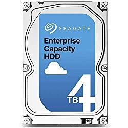 Seagate Enterprise Capacity 3.5 | ST4000NM0035 | 4TB 7.2K RPM 128MB Cache 3.5″ SATA 6Gb/s | 512n | FIPS 140-2 | Enterprise Internal Hard Disk Drive