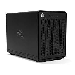 OWC 48TB ThunderBay RAID 5 4-Drive HDD External Storage Solution with Dual Thunderbolt 3 Ports