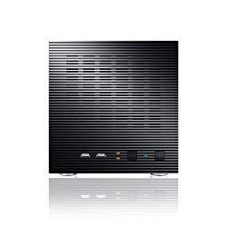 Sans Digital AccuNAS – NAS + iSCSI 4 Bay Network Storage Server Tower AN4L (Black)