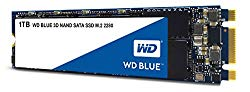 WD Blue 3D NAND 1TB PC SSD – SATA III 6 Gb/s, M.2 2280 – WDS100T2B0B