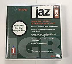 1 PC IOMEGA JAZ 1GB Disk, FORMATTED for IBM-COMPATIBLES #10410