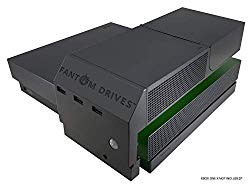 Fantom Drives 1TB Xbox One X SSD (Solid State Drive) – XSTOR – Easy Attachment Design for Seamless Look with 3 USB Ports 2.5 Inches – XOXA1000S