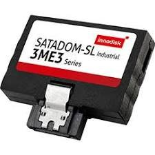 INNODISK DESSL-64GD09BCADC Industrial SSD, SATADOM-SL 3ME3 w/Toshiba 15nm, Industrial, Standard Grade, 0°C ~ +70°C, 64GB SATADOM-SL 3ME3 MLC