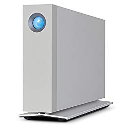 LaCie d2 Thunderbolt 3, 10TB USB 3.1 External Hard Drive + 1mo Adobe CC All Apps (STFY10000400)