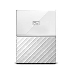 WD 1TB White My Passport  Portable External Hard Drive – USB 3.0 – WDBYNN0010BWT-WESN (Certified Refurbished)