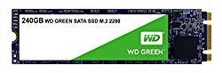 Western Digital SSD WDS240G2G0B 240GB M.2 2280 SATA 6Gb s WD Green Retail