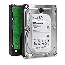 Seagate Enterprise Capacity 3.5 HDD| ST6000NM0034 | 6TB 7.2K RPM SAS 12Gb/s 128MB Cache 3.5″ | 512n | Enterprise Hard Disk Drive for Hyperscale Applications (Certified Refurbished) w/ 3 Year Warranty