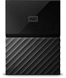 WD 2TB Black My Passport Portable External Hard Drive – USB 3.0 – WDBS4B0020BBK-WESN