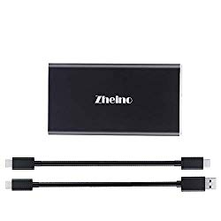 Zheino 128GB Extreme Portable SSD, USB 3.1 Gen 1 Type C OTG External Solid State Drive (P1 128GB)