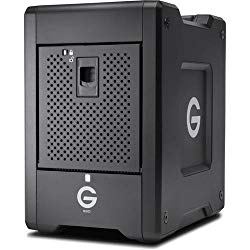 G-Technology 16TB G-SPEED Shuttle SSD with Thunderbolt 3 – Transportable 8-Bay RAID Storage Solution – 0G10193