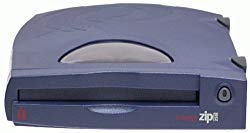 Iomega – Disk drive – ZIP ( 250 MB ) – Parallel – external – blue