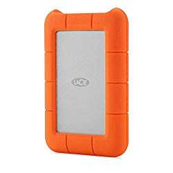 LaCie 4TB Rugged RAID 2.5″ External Hard Drive, Thunderbolt, USB 3.0