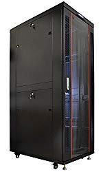 Sysracks 42U IT Network Data Server Rack Cabinet Enclosure 39″ Depth FREE BONUS $150 Value Shelf, Thermo System, PDU, 4 Fans