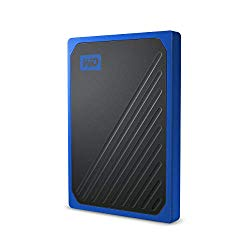 WD 1TB My Passport Go SSD Cobalt Portable External Storage, USB 3.0 – WDBMCG0010BBT-WESN