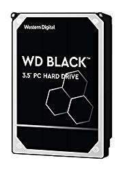 WD Black 4TB Performance Hard Drive – 7200 RPM, SATA 6 Gb/s, 256 MB Cache, 3.5″ – WD4005FZBX