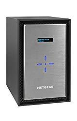 NETGEAR ReadyNAS RN528XE3 8 Bay 24TB Enterprise Premium Performance NAS, 80TB Capacity Network Attached Storage, Intel 2.2GHz Dual Core Processor, 4GB RAM