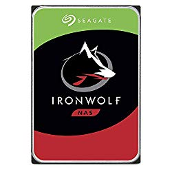 Seagate IronWolf 4TB NAS Internal Hard Drive HDD – 3.5 Inch SATA 6Gb/s 7200 RPM 64MB Cache for RAID Network Attached Storage – Frustration Free Packaging (ST4000VN008)