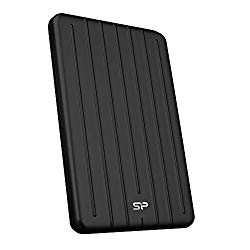 Silicon Power 1TB Rugged Portable External SSD,Bolt B75 Pro, USB 3.1 Gen 2, USB-C to Type-C/Type-A Cables, Black – SP010TBPSD75PSCK