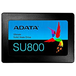 ADATA SU800 512GB 3D-NAND 2.5 Inch SATA III High Speed Read & Write up to 560MB/s & 520MB/s Solid State Drive (ASU800SS-512GT-C)