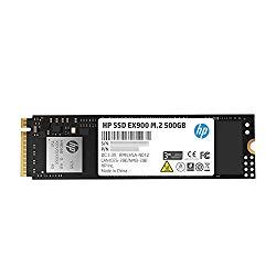 HP EX900 M.2 500GB PCIe 3.0 X4 Nvme 3D TLC NAND Internal Solid State Drive (SSD) – 2Yy44Aa#ABC