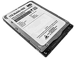 MaxDigitalData 1TB 5400RPM 64MB Cache (7mm) SATA 6.0Gb/s 2.5inch Mobile HDD/Notebook Hard Drive – 2 Year Warranty