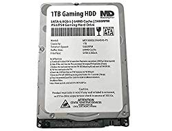 MaxDigitalData (MD1000GLSA6454-PS) 1TB 64MB Cache 5400RPM SATA 6.0Gb/s 2.5inch 7MM Gaming Hard Drive (for PS3/PS4) – 2 Year Warranty