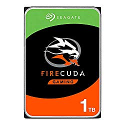 Seagate FireCuda 1TB Solid State Hybrid Drive Performance SSHD – 3.5 Inch SATA 6Gb/s Flash Accelerated for Gaming PC Laptop – Frustration Free Packaging (ST1000DX002)