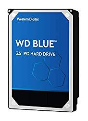 WD Blue 6TB PC Hard Drive – 5400 RPM Class, SATA 6 Gb/s, 64 MB Cache, 3.5″ – WD60EZRZ