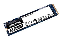 Kingston 500GB A2000 M.2 2280 Nvme Internal SSD PCIe Up to 2000MB/S with Full Security Suite SA2000M8/500G