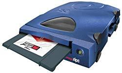 Iomega ZIP 250 – Disk drive – ZIP ( 250 MB ) – Parallel – external – blue