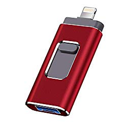 USB Flash Drive for iPhone 512gb Memory Stick fuxingmen Photo Stick USB 3.0 Jump Drive Thumb Drives Externa Lightning Memory Stick for iPhone iPad Android and Computers (red-512GB)