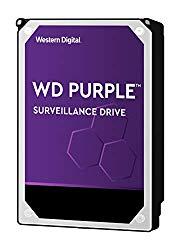 WD Purple 8TB Surveillance Internal Hard Drive – 5400 RPM Class, SATA 6 Gb/s, 256 MB Cache, 3.5″ – WD81PURZ