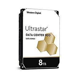Western Digital 8TB Ultrastar DC HC320 SATA HDD – 7200 RPM Class, SATA 6 Gb/s, 256MB Cache, 3.5″ – HUS728T8TALE6L4