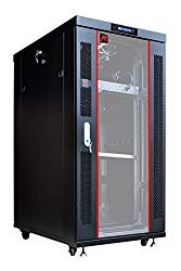 27U Free Standing Server Rack Cabinet.Fit most of servers. ACCESSORIES FREE!! Network IT Rack Cabinet Enclosure. …