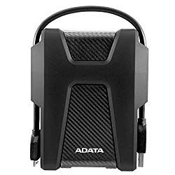 ADATA HD680 1TB Military-Grade Shock-Proof External Portable Hard Drive Black (AHD680-1TU31-CBK)