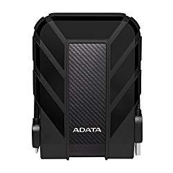 ADATA HD710 Pro 4TB USB 3.1 IP68 Waterproof/Shockproof/Dustproof Ruggedized External Hard Drive, Black (AHD710P-4TU31-CBK)