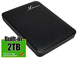 Avolusion 2TB USB 3.0 Portable External Gaming Hard Drive (Design for Xbox One S, X & Pre-Formatted) HD250U3-Z1-2TB-XBOX – 2 Year Warranty