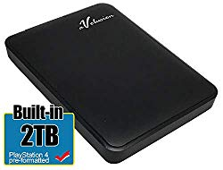 Avolusion 2TB USB 3.0 Portable PS4 External Hard Drive (PS4 Pre-Formatted) HD250U3-Z1-2TB-PS – 2 Year Warranty