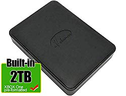 Avolusion 2TB USB 3.0 Portable Xbox One External Hard Drive (Pre-Formatted) HD250U3-X1-2TB-XBOX – 2 Year Warranty