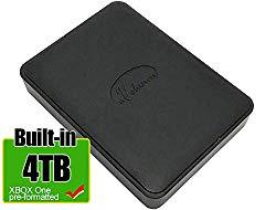 Avolusion 4TB USB 3.0 Portable External Gaming Hard Drive (Designed for Xbox One, Pre-Formatted) HD250U3-X1-4TB-XBOX – 2 Year Warranty