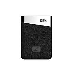 Docooler External Solid State Drive Portable SSD Mini Type-c USB 3.1 Super Speed Netac