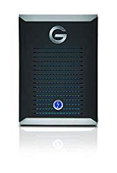 G-Technology 2TB G-DRIVE Mobile Pro SSD Portable Professional Grade External Storage – Thunderbolt 3 – 0G10312-1