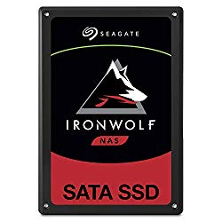 Seagate IronWolf 110 480GB NAS SSD Internal Solid State Drive – 2.5 inch SATA for Multibay RAID System Network Attached Storage, 2 Year Data Recovery (ZA480NM10001)
