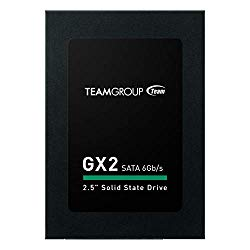 TEAMGROUP GX2 512GB 2.5 Inch SATA III Internal Solid State Drive SSD (Read Speed up to 530 MB/s) T253X2512G0C101