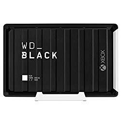 WD_Black 12TB D10 Game Drive for Xbox One, External Hard Drive (7200 RPM) – WDBA5E0120HBK-NESN