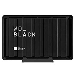 WD_Black 8TB D10 Game Drive, External Hard Drive Compatible with PS4, Xbox One, PC, Mac (7200 RPM) – WDBA3P0080HBK-NESN