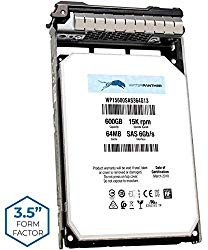 600GB 15K SAS 6Gbps 3.5″ HDD for Dell PowerEdge Servers | Enterprise Hard Drive in 13G Tray | Compatible with R230 R330 R710 R720 R730 T310 T330 W347K 0W347K W348K ST3600057SS
